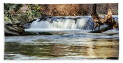 Upper Whatcom Falls Bath Towel