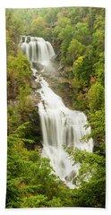 Upper Whitewater Falls Bath Towel