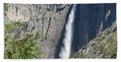 Upper Yosemite Falls Hand Towel