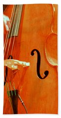 Upright Bass 3 Bath Towel