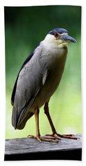 Upstanding Heron Bath Towel