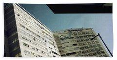 Urban Geometry Hand Towel by Carlos Caetano