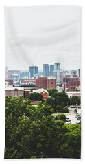 Hand Towel featuring the photograph Urban Scenes In Birmingham  by Shelby Young