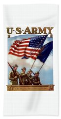 Us Army -- Guardian Of The Colors Bath Towel