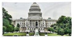 U.s. Capitol Building Bath Towel