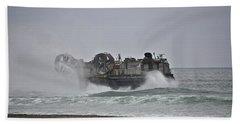 Us Navy Hovercraft Hand Towel