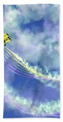 Us Navy Seals Colorful Parachute Jump Bath Towel