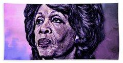 Us Representative Maxine Water Hand Towel