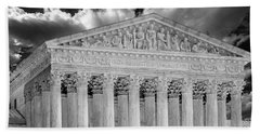Us Supreme Court II Bw Hand Towel