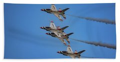 Hand Towel featuring the photograph Usaf Thunderbirds by Rick Berk