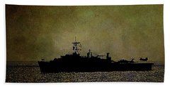 Uss Ponce Lpd-15 Hand Towel