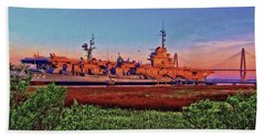 Uss York Town Bath Towel