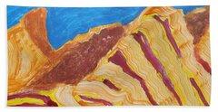 Utah  Canyons Hand Towel by Don Koester