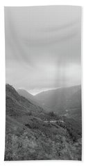 Bath Towel featuring the photograph V For Vientoooooo Or Just The V On The Mountain by Bruno Rosa