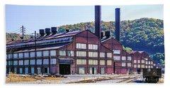 Vacant Steel Mill - Johnstown Pa Bath Towel
