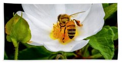 Vacaville Honey Bee Bath Towel