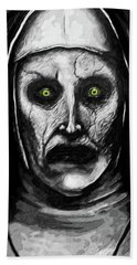 Valak The Demon Nun Hand Towel by Taylan Apukovska