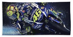 Valentino Rossi Hand Towel
