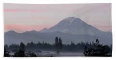 Valley Mists Bath Towel by Shirley Heyn