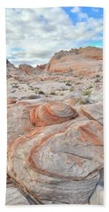 Valley Of Fire Beehives Bath Towel by Ray Mathis