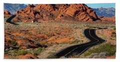 Valley Of Fire Hand Towel