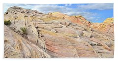 Valley Of Fire High Country Bath Towel