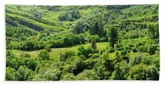 Valley Of Green Bath Towel