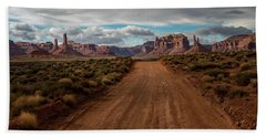 Valley Of The Gods Hand Towel