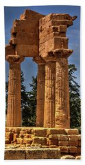 Valley Of The Temples I Hand Towel by Patrick Boening