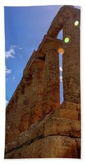 Valley Of The Temples Iv Hand Towel by Patrick Boening