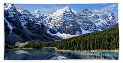 Valley Of The Ten Peaks Hand Towel