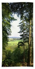 Valley View Hand Towel by Anne Kotan
