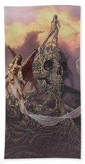Vampis Lair Bath Towel