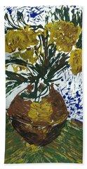 Van Gogh Bath Towel by J R Seymour