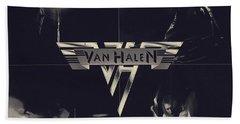 Van Halen - Vintage Art Hand Towel