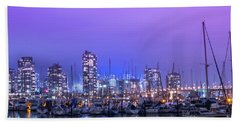 Hand Towel featuring the photograph Vancouver by Juli Scalzi