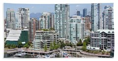 Vancouver's West End Hand Towel