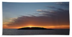 Hand Towel featuring the photograph Variations Of Sunsets At Gulf Of Bothnia 1 by Jouko Lehto