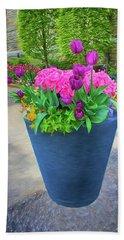 Vase And Flowers Series 05 Hand Towel