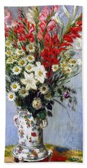Lily Of France Paintings Hand Towels