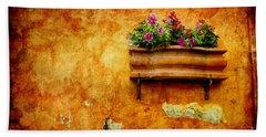 Vase Bath Towel by Silvia Ganora