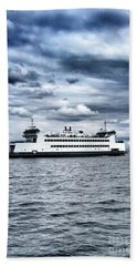 Vashon Island Ferry Bath Towel