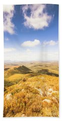 Vast Expanse Of Wonderful Countryside Hand Towel