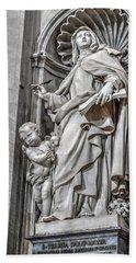 Vatican Statue Bath Towel