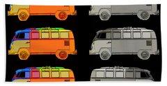 Vdub Surfer Bus Series Bath Towel