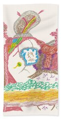 Vedauwoo Shaman Hand Towel by Mark David Gerson