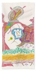 Vedauwoo Shaman Bath Towel by Mark David Gerson
