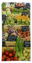 Veg At Marche Provencal Hand Towel