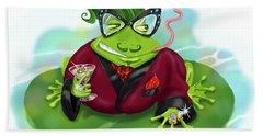 Vegas Frog Bachelor Pad Bath Towel
