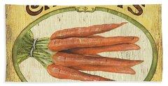 Veggie Seed Pack 4 Hand Towel by Debbie DeWitt